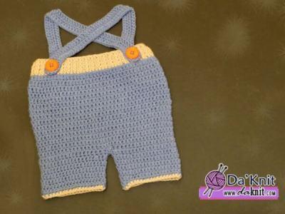 Baby Strap Short Pants