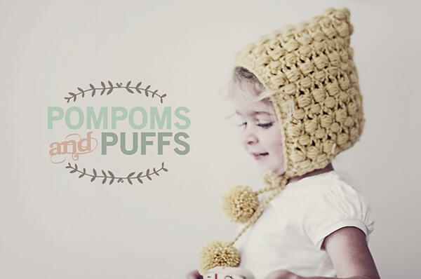 PomPoms and Puffs Pixie Hat