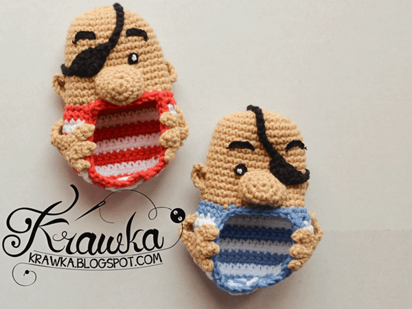 Baby booties - Pirates