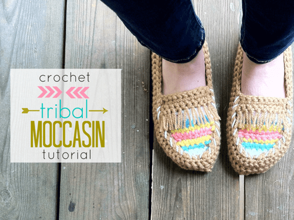 Tribal Moccasin