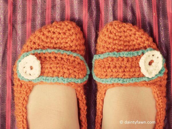 Free Crochet Slippers Pattern