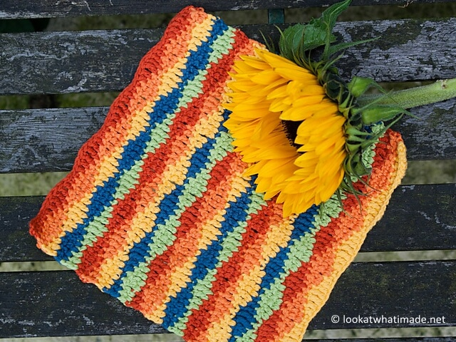 Lazy Waves Dishcloth