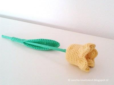 crochet a tulip
