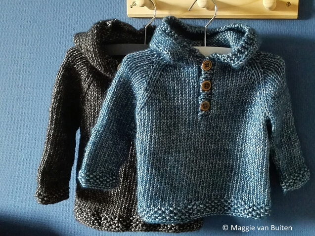 Seamless Baby Hooded Pullover