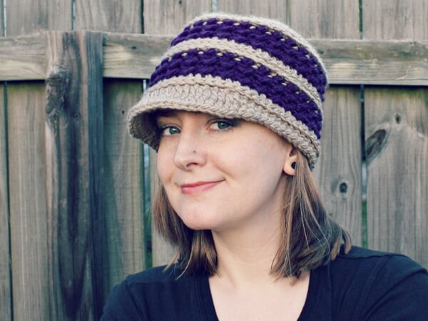 Diana Newsboy Hat