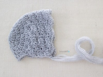 Lace Baby Bonnet