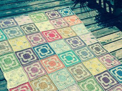 Faded Love Original Crochet Afghan Blanket