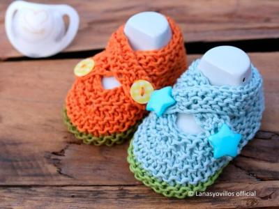 Baby Crossed Shoes