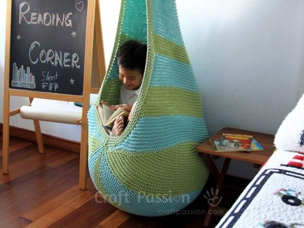 Cocoon Hanging Seat Pattern