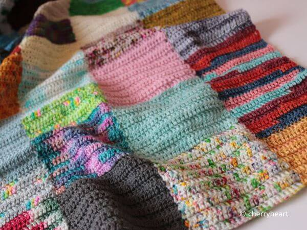 Scrappy Squares Blanket