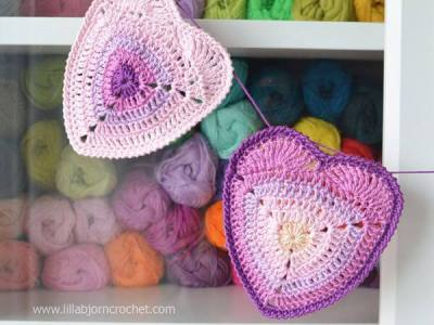Ombre Heart Coaster