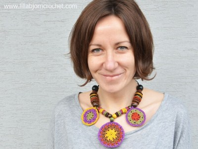 African Mandala Necklace