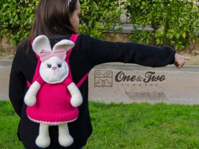 Olivia the Bunny Backpack