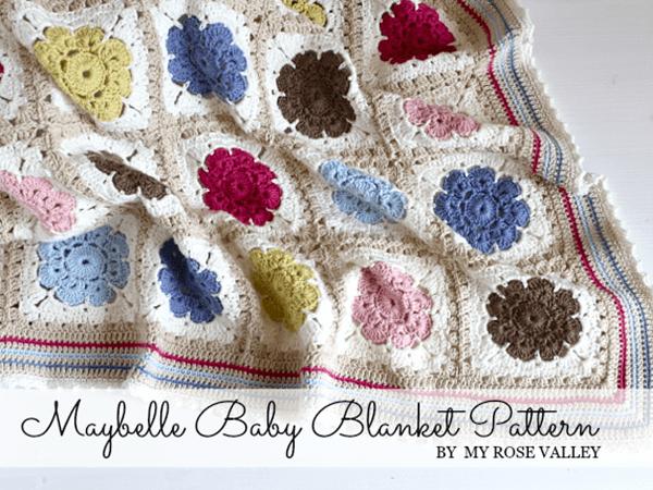 Maybelle Baby Blanket Pattern