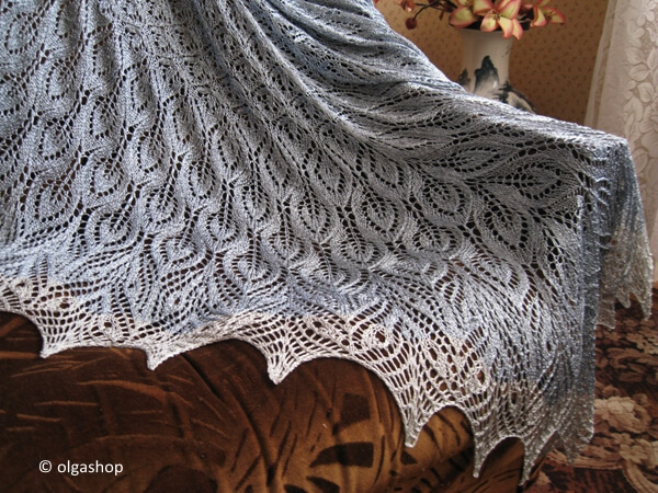 Regrowth Shawl