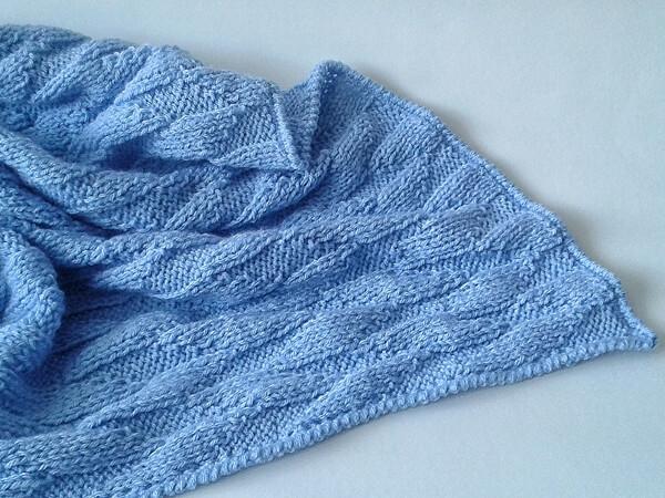 Blank Slate Baby Blanket