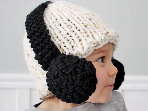Baby Headphone Hat