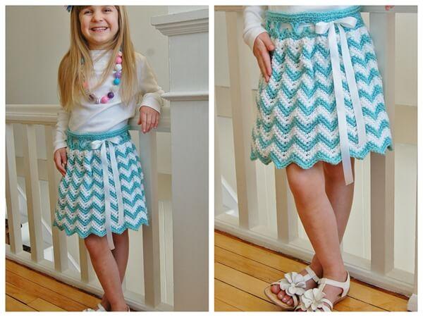 Chasing Chevrons Skirt
