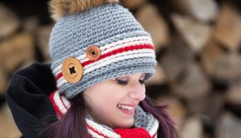 Crochet Work Sock Hat and Cowl Pattern – Share a Pattern 3b73807687d