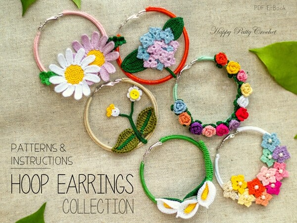 Crochet Earrings Pattern Collection