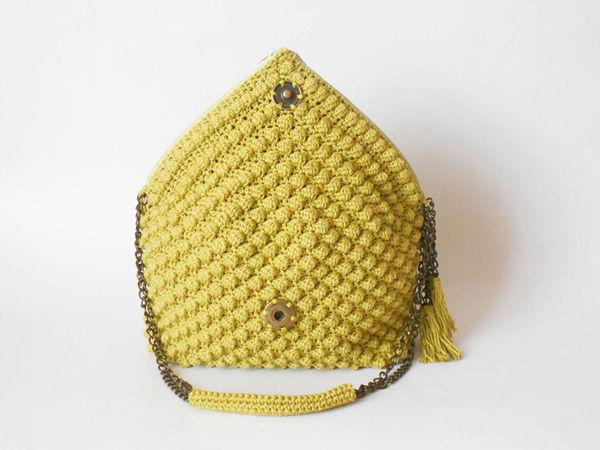 Bobble Stitch Bag