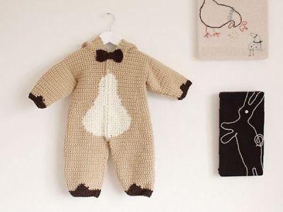Baby Bear Playsuit