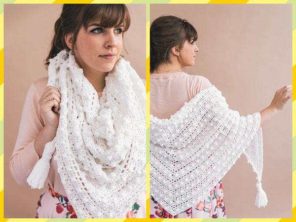 Crochet Le Nuage Wrap