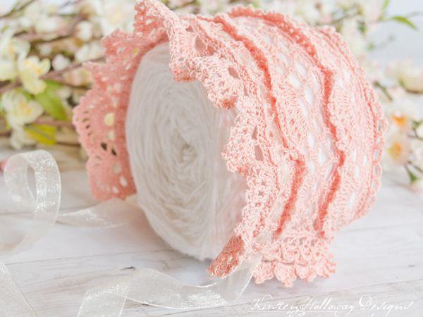 Victoria Rose Lace Baby Bonnet