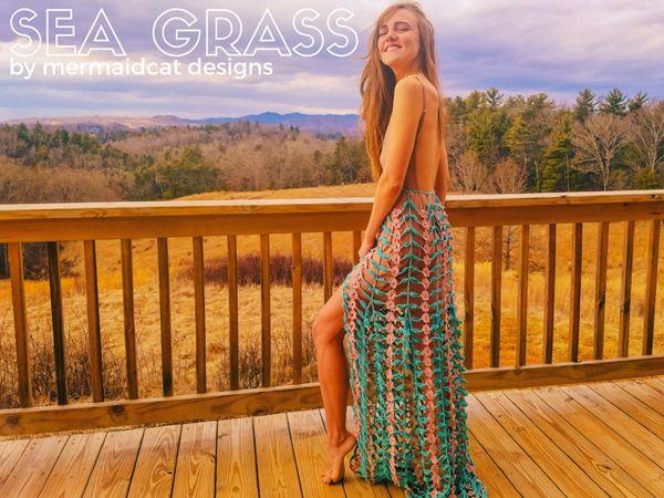 Sea Grass - Skirt