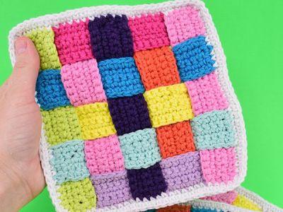 Woven Crochet Dischcloths