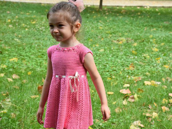 toddler crochet dress