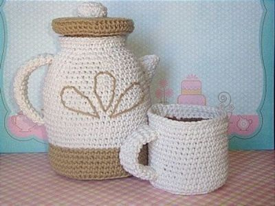A. Jolly Coffee Pot with Cup