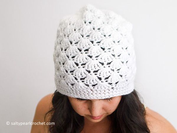 Venus Shell Slouch Hat