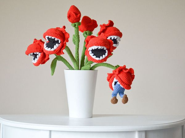 Bouquet of man-eating plants