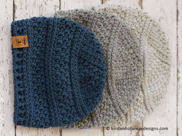 Simple Seed Stitch Beanie