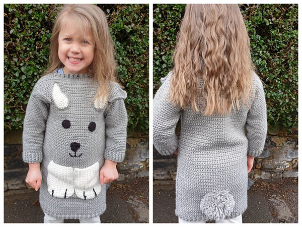 Bunny Jumper Dress