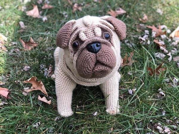 Crochet Pug Dog