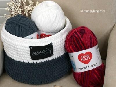 Crochet Simple Home Basket free pattern