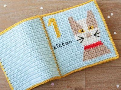 Crochet Baby Quiet Book Pattern