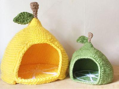 Mini Crochet Pet Bed pattern