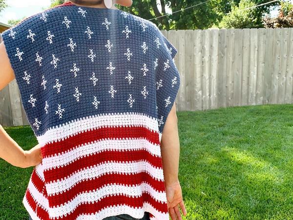 crochet Liberty Wrap free patterns