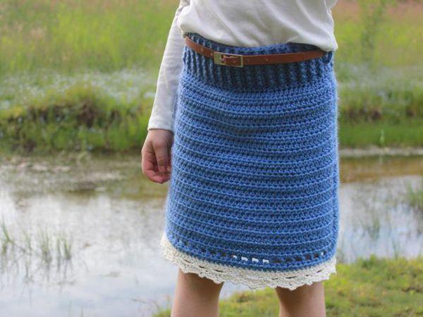 Crochet Girl's Skirt Pattern