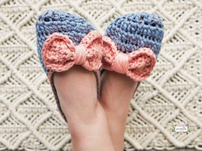 Crochet Ophelia House Slippers