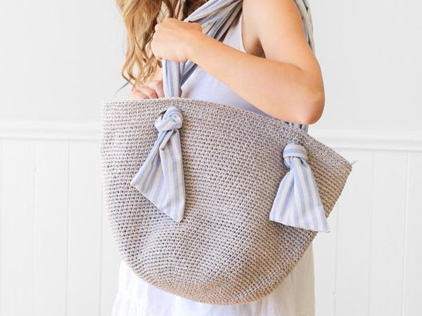 crochet Spencer Market Bag pattern