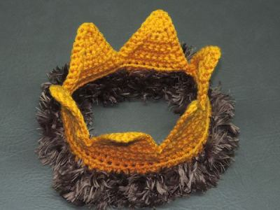 crochet King Crown free pattern