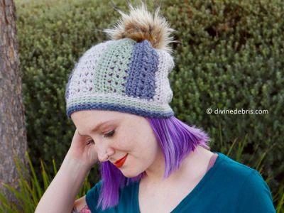 crochet Sherbet Beanie free pattern