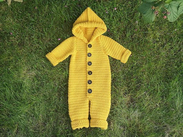 crochet The Haylie Overall Romper easy pattern