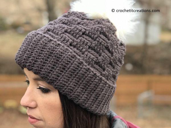 crochet Dream Weaver Beanie free pattern
