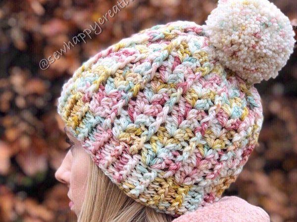 crochet Snow Days Hat easy pattern