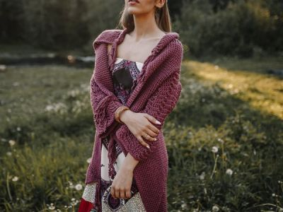 crochet Women Boho Cardigan easy pattern